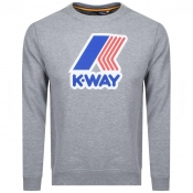 Product Image for K Way Augustine Sweatshirt Grey